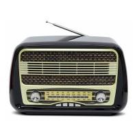 Ретро радио Kemai MD-1902BT