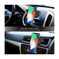 Универсална стойка за автомобил с безжично зареждане HZ HWC1