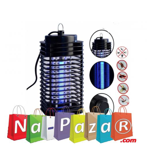 Ултравиолетова лампа против комари и други насекоми LM-3B, UV Lamp, Черна