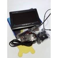 7 LCD TFT цветен дисплей за кола