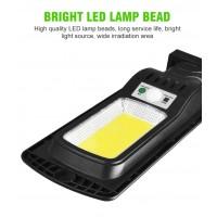 Xlight 120A Соларна у-на лампа , 136 LED, PIR, Dimmer, дистанционно