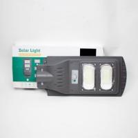 Интегрирана соларна лампа 60W LED прожектор, Дистанционно управление, Сензор движение