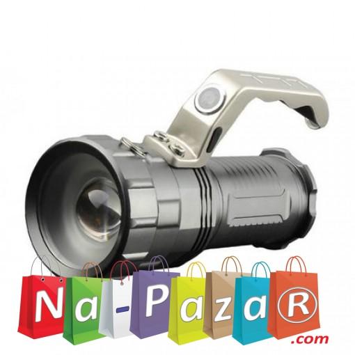 Фенер за охрана и лов Power Style CREE XM-L T6 , Ръчен, Aкумулаторен, Зуум функция