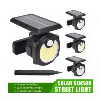 Градинска соларна лед лампа Sihangark SH-1705C, Слънчев панел, Tри режима на работа