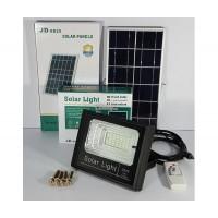 Градински соларен LED комплект FOYU 8825, Solaren panel, LED прожектор, Дистанционно управление