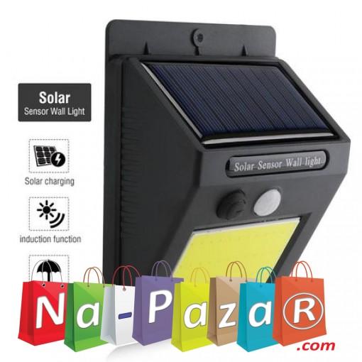 Соларна LED лампа KAPP, със сензор за движение, 48 LED диода