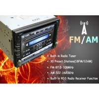 6.2 универсален двоен дин с GPS, DVD, Цифрова TV, VIDEO и Bluetooth