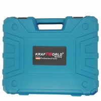 Немски ударен винтоверт 24 волта Kraft World + 2 батерии + Зарядно+ подарък LED USB фенер