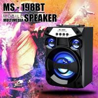 Bluetooth тонколона с радио, MP3 от флашка или карта памет MS-198BT-A