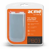 Външна мобилна акумулаторна батерия Power Bank ACME PB03