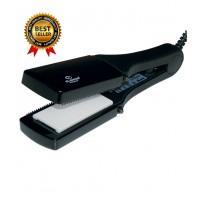 Преса за коса 4х1 Elekom EK - 45, 4 Керамични плочи, Лесна смяна на приставките 100 W, Индикаторна лампа